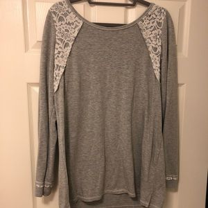 A Pea In The Pod Maternity Sweater Grey Gray